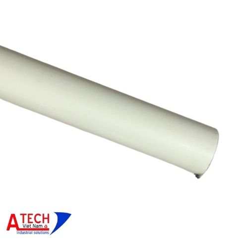Ống-thép-bọc-nhựa-màu-vàng-kem-Ø28mm