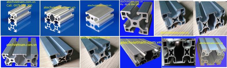 Atechvietnam - Số 1 về nhôm định hình, phụ kiện nhôm định hình