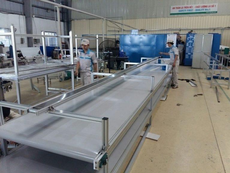 Quy trình sản xuất nhôm định hình công nghiệp