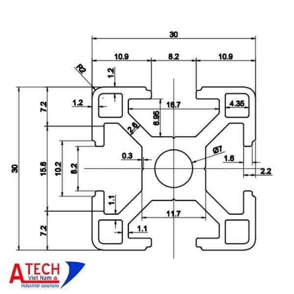 thông-số-kỹ-thuật-nhôm-định-hình-30x30-rãnh-8